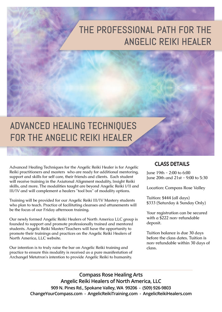 advanced healing techniques class